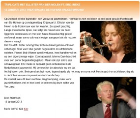 Review of the Valkenswaard concert
