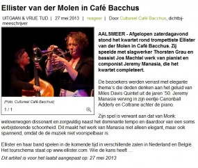review of our Aalsmeer concert